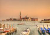 Venetian sunset — Stock Photo