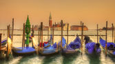 Venetian sunset — Stock Photo