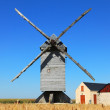 traditional windmill — Stock Photo