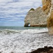 La Falasise d'Amont-Etretat — Stock Photo