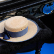 The hat of a gondolier - Stock Photo