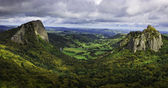 Landscape in the Central Massif in France — Stock Photo
