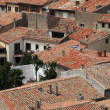 Roofs of Carcassonne — Stock Photo