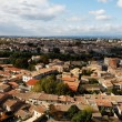 Carcassonne-the base city - Stock Photo