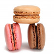Three macarons - Stock Photo