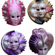 Venetian masks - Stockfoto