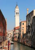 Venedik su yolu — Stok fotoğraf