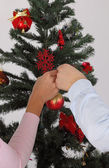 Christmas romance — Stock Photo