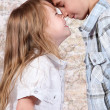 Boy and girl together — Stock Photo #7744327