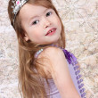 Little girl Dressed as Princess — Stock Photo #7744379