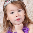 Little girl Dressed at Princess — Stock Photo #7744400