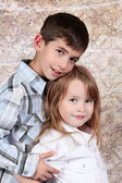 Boy and Girl together — Stock Photo