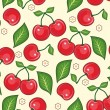 Stock Vector: Cherry background