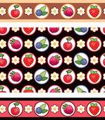 Berry background — Stock Vector