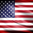 Flag of America - Stock Photo