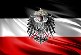 Flag of German Empire — Stock Photo