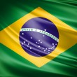 Flag of Brazil - Stock Photo