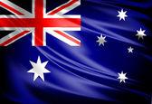 Flag of Australia — Stock Photo