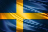 Flag of Sweden — Stock Photo
