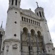 Front of Fourviere cathedral in Lyon city — Stock Photo #6962022
