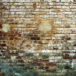 Grunge brick wall — Stock Photo #6826564