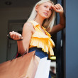 Young woman with shopping bags — Stock Photo #6826621