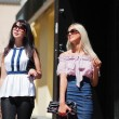 Two young women shopping — Stock Photo #6858593