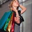 Young woman shopping — Stock Photo #6858647
