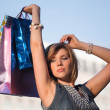 Young woman shopping — Stock Photo #6858659