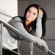 Young woman daydreaming — Stock Photo