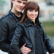 Happy young couple — Stock Photo #6866339