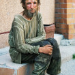 Homeless man — Stock Photo #6866400