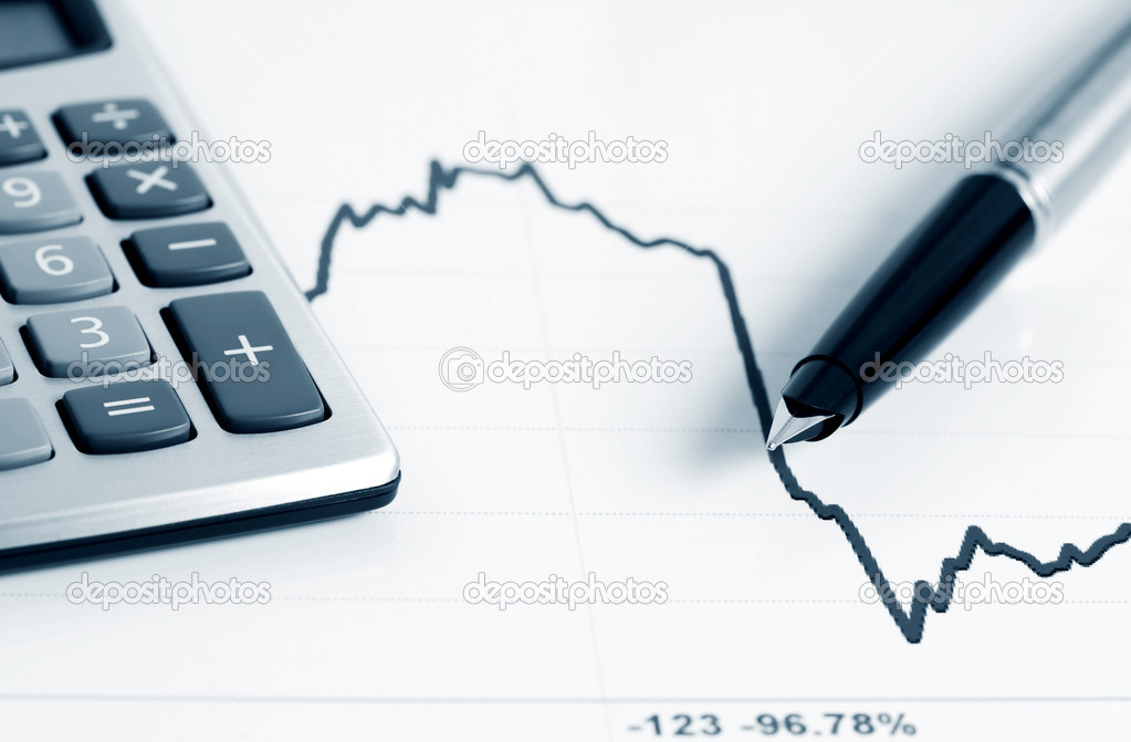 Stock index dynamics — Stock Photo #6866175