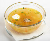 Shchi soup — Stock Photo