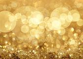 Twinkley огни и звезды новогодний фон — Стоковое фото