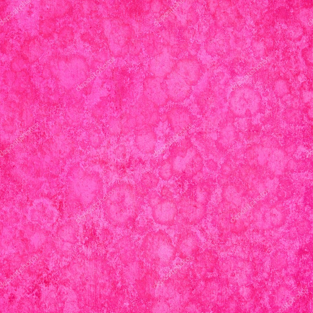 spongy pink grunge textured background � stock photo