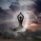 Yoga and Spirituality — Stockfoto