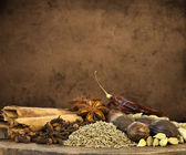 Mixed Spices Background — Stock Photo