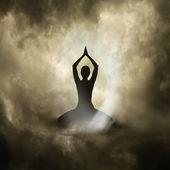 Yoga und spiritualität — Stockfoto