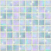 Mosaico de ópalo azul transparente — Foto de Stock