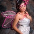 Pink Fairy of Love — Stock Photo