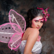 pink fairy — Stock Photo