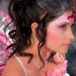 Stock Photo: Portrait of womin makeup of fairies