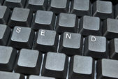 Send on keyboard — Stock Photo