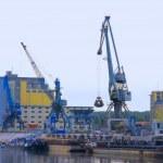 River port — Stock Photo