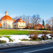Early spring in small village in Germany, Europe . — Stock Photo #6912106