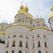 Dormition Cathedral in Pechersk Lavra in Kiev. — Stock Photo