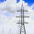 Stock Photo: Power Transmission Line.