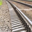 Fragment of rails. — Stock Photo #6912904