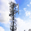 Stock Photo: Radio Relay Link, Mobile Base Station.